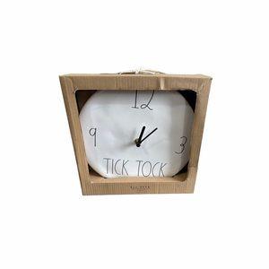 NWT Rae Dunn Tick Tock Wall Clock